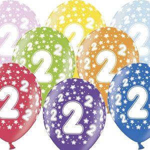 2 gimtadienis spalvotas Pradinis