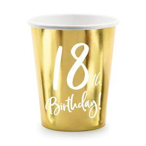 """Puodelis 18 1 Vienkartiniai puodeliai """"18"""""""