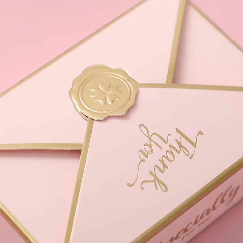 """dezute rozine 3 Rožinė dėžutė """"Thank You"""" (5vnt.)"""