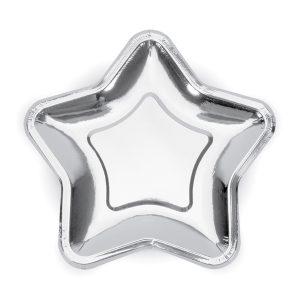 """lekstute zvaigzde sidabrine 1 Lėkštutės """"Sidabrinė žvaigždė"""""""