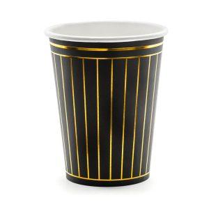 puodelis juodas aukso dryziai 1 Juodi puodeliai aukso dryžiais