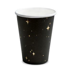 """puodelis juodas aukso zvaigzde 1 Puodeliai """"Juodoji naktis"""""""