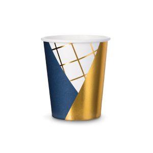 "puodelis melyna auksas 1 Puodeliai ""Mėlyni langeliai"""