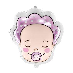 """rozine baby 1 Balionas """"Baby Pink"""""""