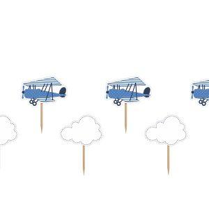 """smeigtukai lektuvelis debeselis zydra balta 1 Smeigtukai """"Lėktuvėlis"""""""