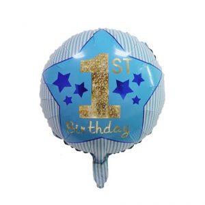 1 gimtadienis zydras 1-ojo gimtadienio folinis balionas