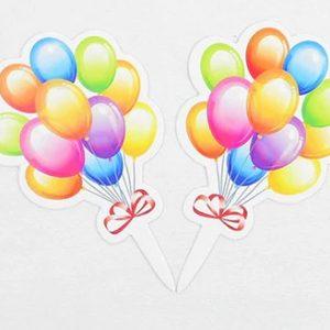 """balionai 3 Smeigtukai """"Balionėliai"""""""