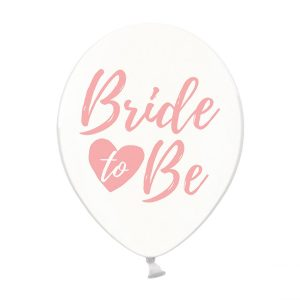 """bride rozine skaidrus 1 Skaidrus balionas """"Bride to Be"""""""