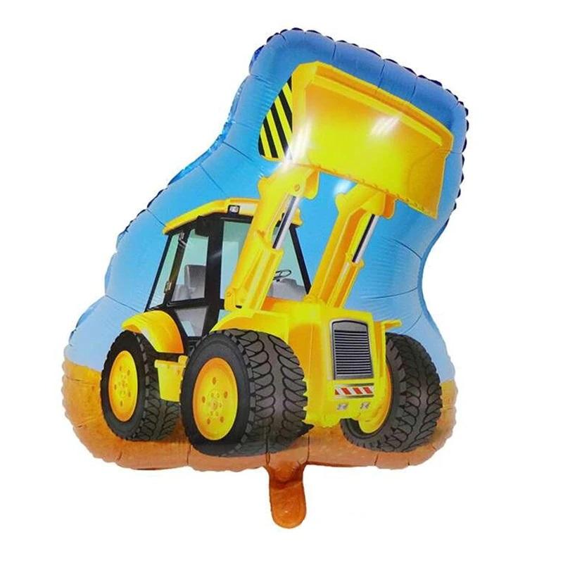 """traktorius geltonas Balionas """"Geltonas traktoriukas"""""""