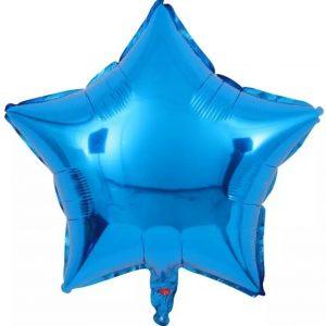 zvaigzde melyna Folinės žvaigždės balionai