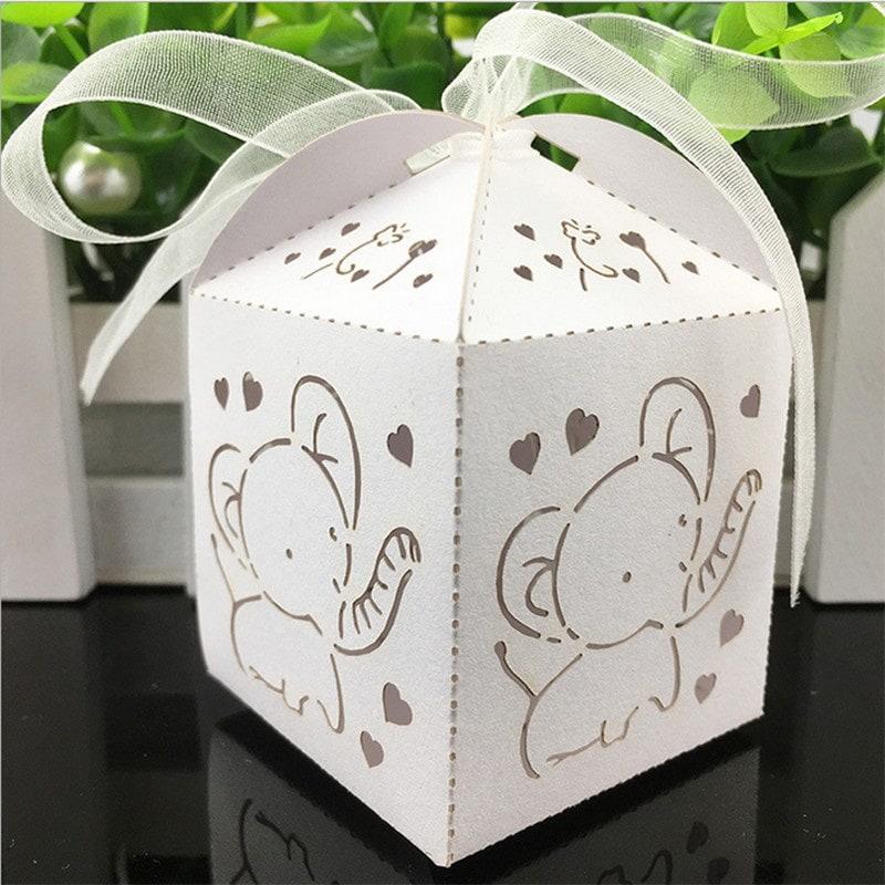 dezute krikstynoms drambliukas Dovanų dėžutė su drambliuku