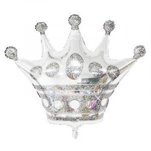karuna sidabrine Folinis balionas sidabrinė karūna