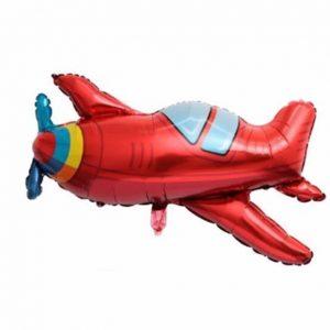 """lektuvelis raudonas Folinis balionas """"Lėktuvėlis"""""""