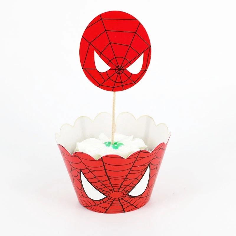 """smeigtukai spiderman Keksiukų formelės ir smeigtukai """"Žmogus voras"""""""