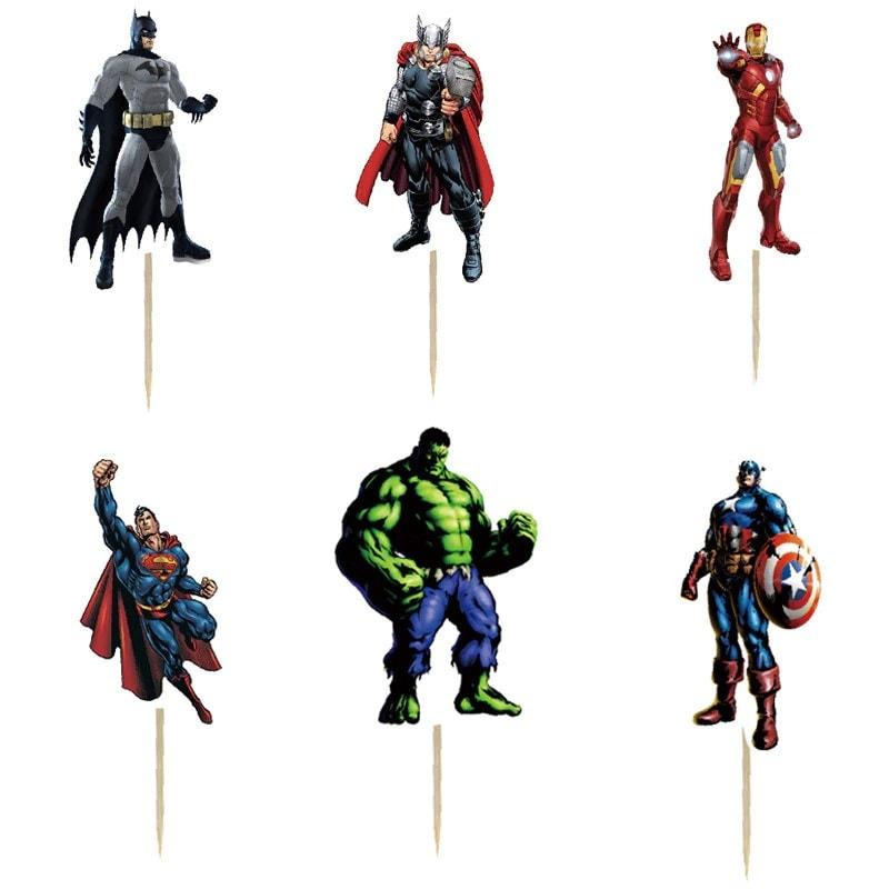 super herojai Smeigtukai Herojai