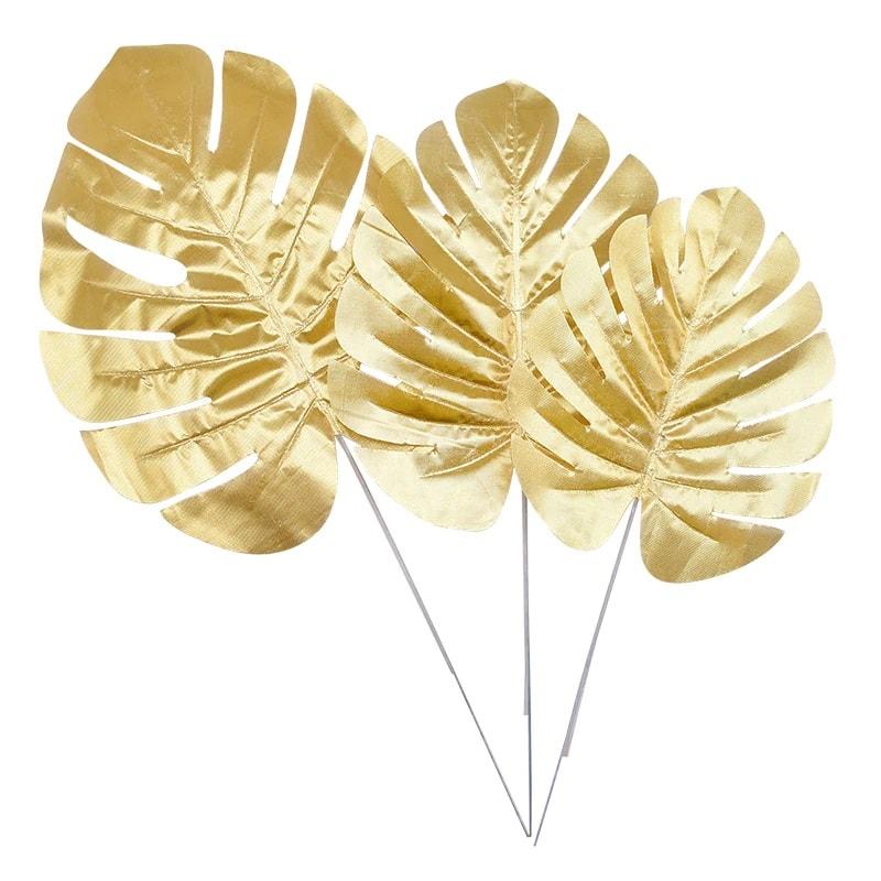 auksinis lapas Auksiniai lapeliai dekoravimui