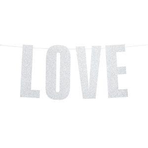 """love girlianda 1 Užrašas """"LOVE"""""""