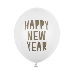 nauji metai baltas 1 Balionas Naujiems metams baltas