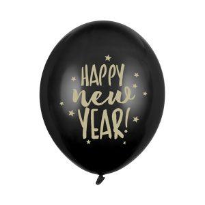 nauji metai juodas 1 Balionas Naujiems metams juodas
