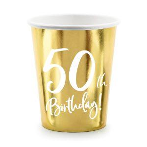 """puodelis 50 1 Vienkartiniai puodeliai """"50"""""""