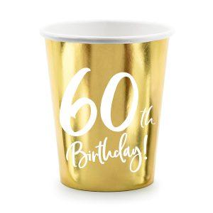 """puodelis 60 1 Vienkartiniai puodeliai """"60"""""""