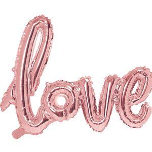 """uzrasas love Folinis balionų užrašas """"love"""""""