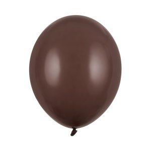 vienspalvis rudas sokoladinis Vienspalvis šokoladinis balionas