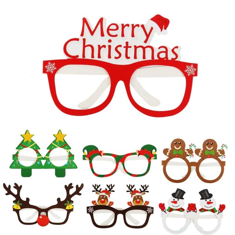 akiniai Kalėdiniai akiniai