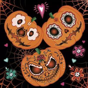 helovinas 2 Servetėlės Helovinui