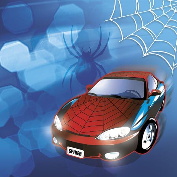 """spider Servetėlės iš serijos """"Žmogus voras"""""""